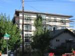 City of Roses Motel.  Stucco.
