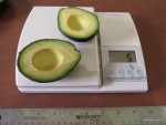 Which is the better value the large avocado or the small one?