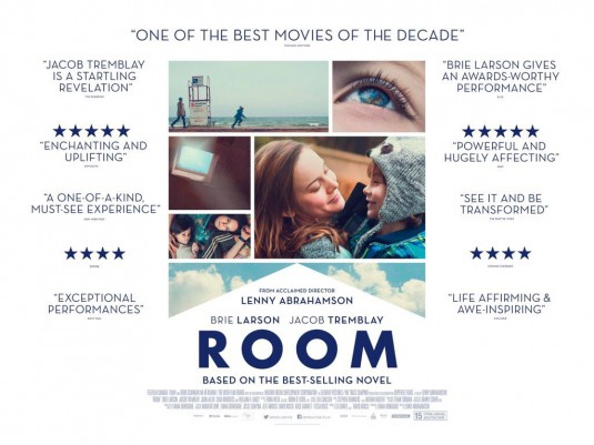Three sentence movie reviews:  Room