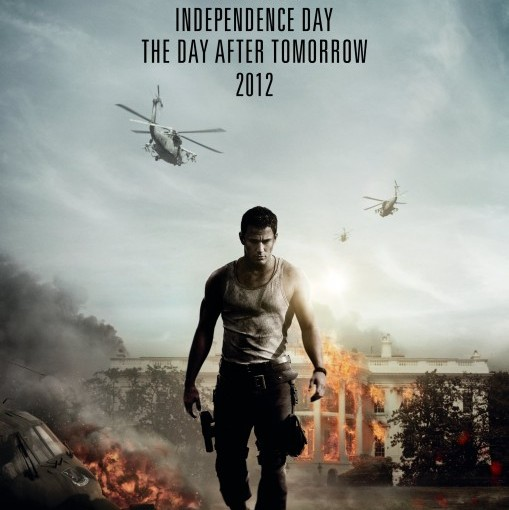 Three sentence movie reviews:  White House Down