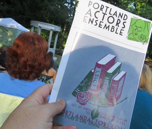 Portland Actor's Ensemble Love's Labour's Lost