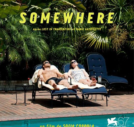 Three sentence movie reviews: Somewhere