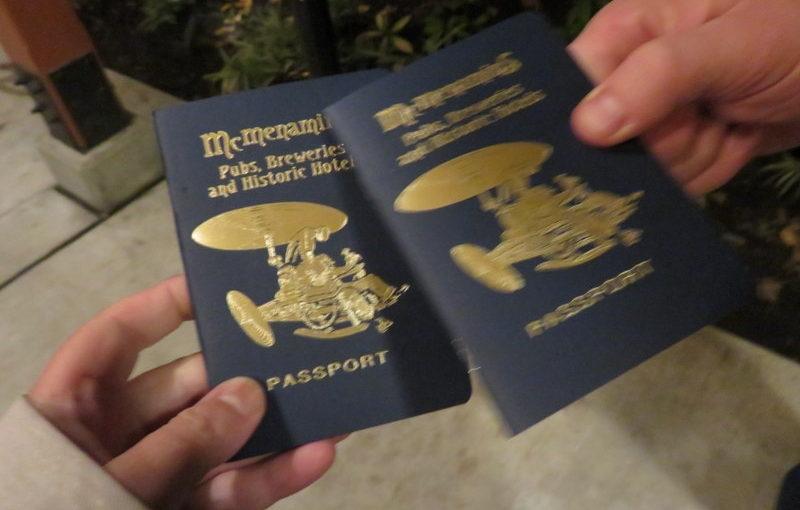 McMenamins Passport: It begins again