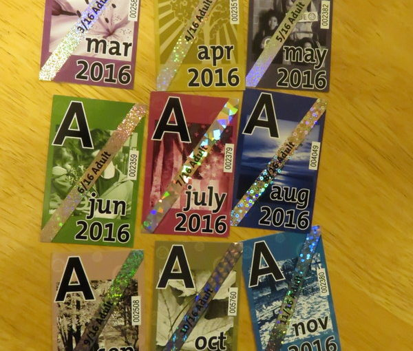 Cleaning out the wallet:  $900 in TriMet Passes