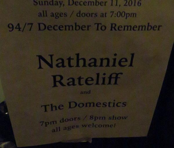 Nathaniel Rateliff & The Night Sweats.