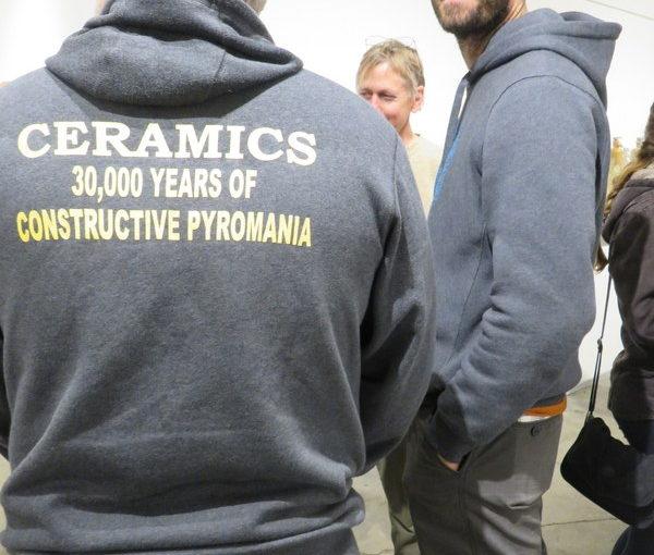 Funny sweatshirt at NCECA