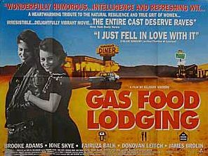 Three sentence movie reviews: Gas Food Lodging