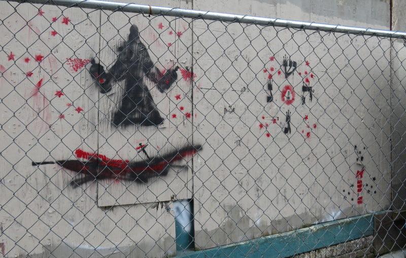 New graffiti on Park & Glisan building