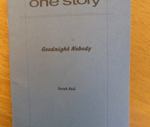 One Story: Goodnight Nobody by Sarah Hall