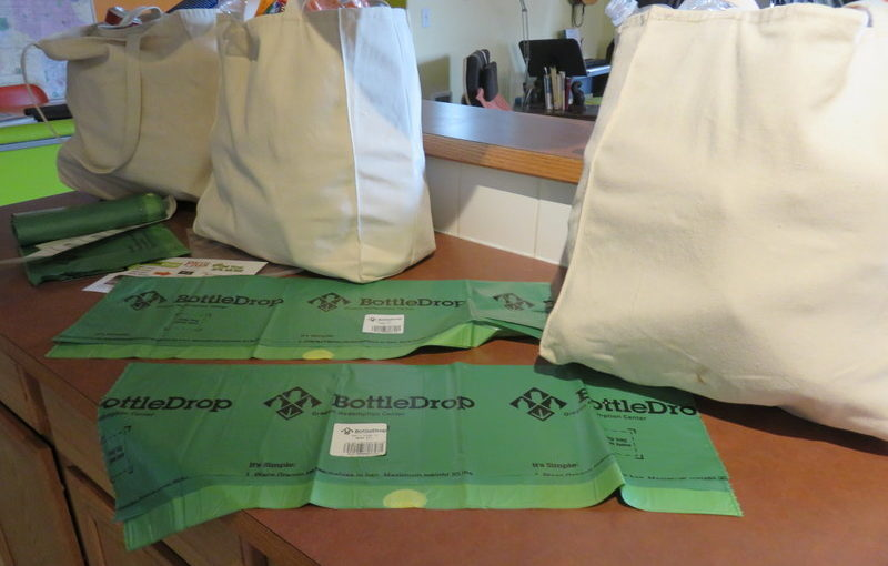 Why let ten-cent increments of money get away from me?  The BottleDrop Green Bag program