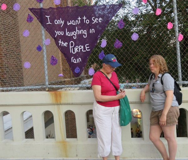 Minnesota State Fair Day One: Yarn Bomb