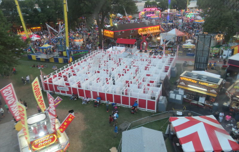 Minnesota State Fair Day Two: Skyride