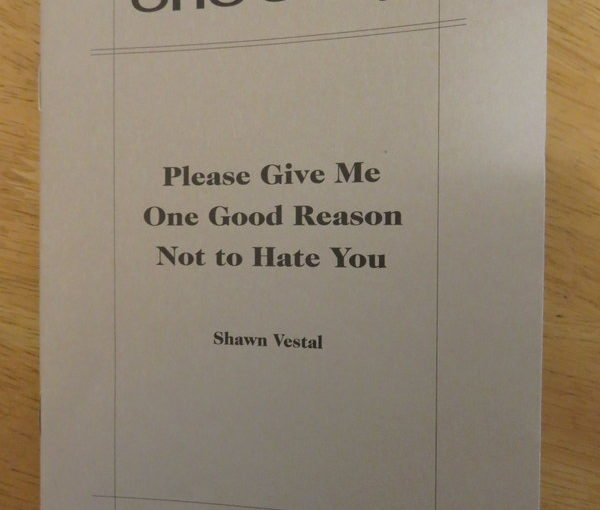 One Story: Please Give Me One Good Reason Not to Hate You