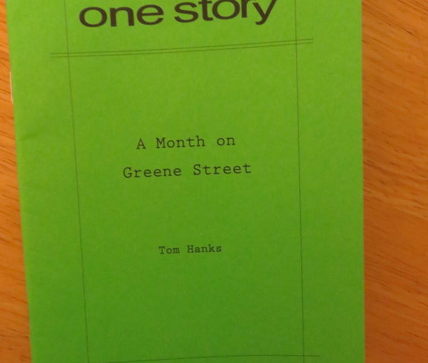One Story: Toby and A Month on Greene Street