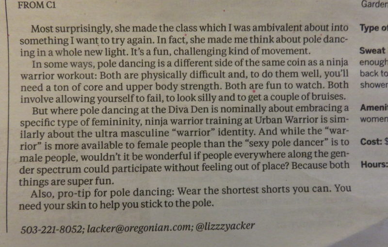 Lizzy Acker is my new favorite reporter for the Oregonian