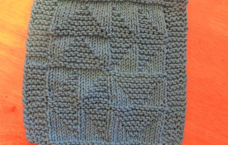 Dishcloth: Dutchman's Puzzle