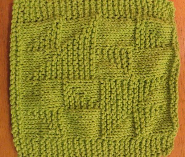 Dishcloth: Old Maid's Puzzle