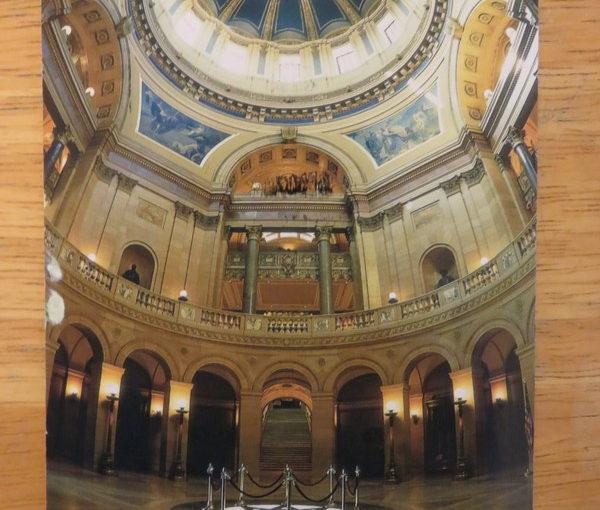 SKS postcard: Minnesota State Capitol Rotunda