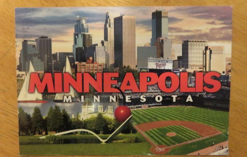 SKS postcard: Minneapolis highlights.
