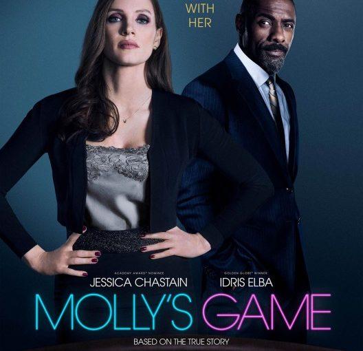 Three sentence movie reviews: Molly's Game