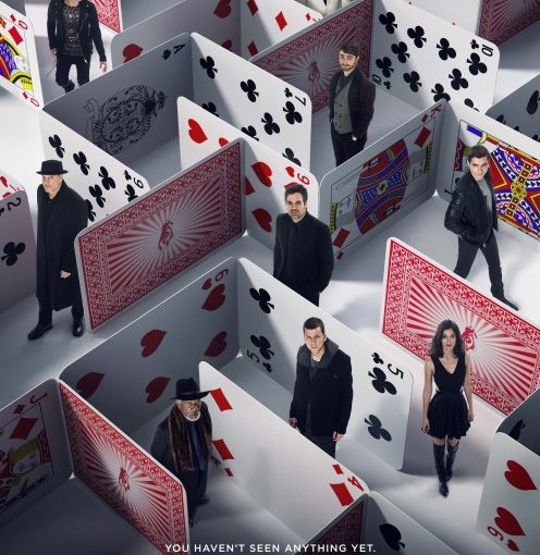Three sentence movie reviews: Now You See Me 2