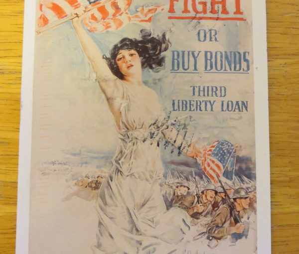 SKS Postcard: Fight or Buy Bonds