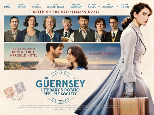 Three sentence movie reviews: The Guernsey Literary and Potato Peel Pie Society