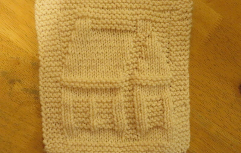 Dishcloth, one more time