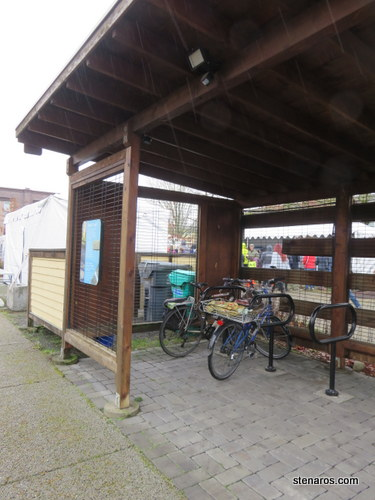 Quality bike parking at the EMSWCD