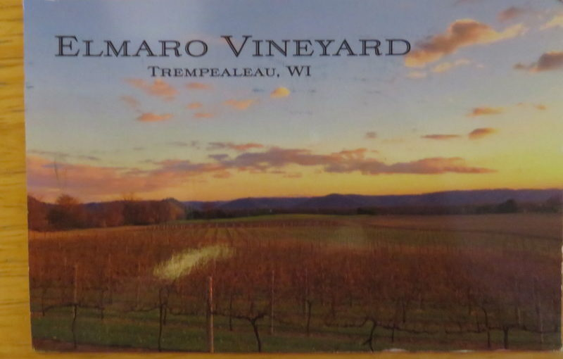 SKS Postcard: Elmaro Vineyard