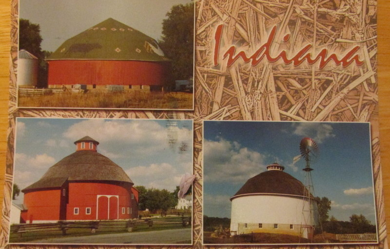 Postcard from Indiana