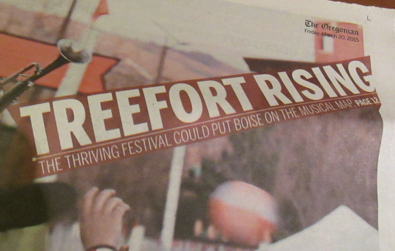Treefort.  You don't say?