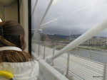 First time on the Tilikum Crossing