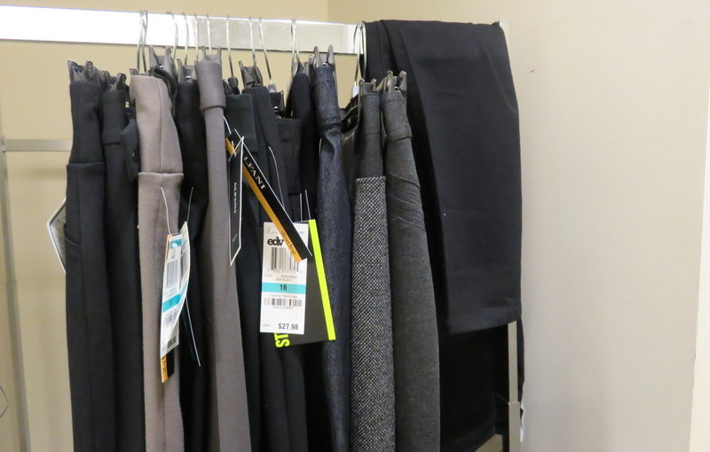 42 pairs of pants.