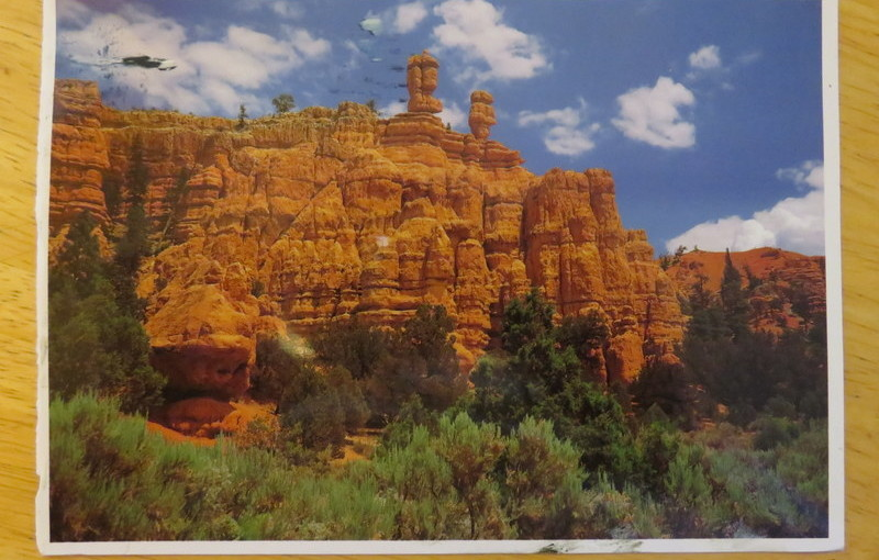 Postcard from Zion National Park, USA