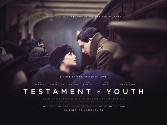 Three sentence movie reviews: Testament of Youth