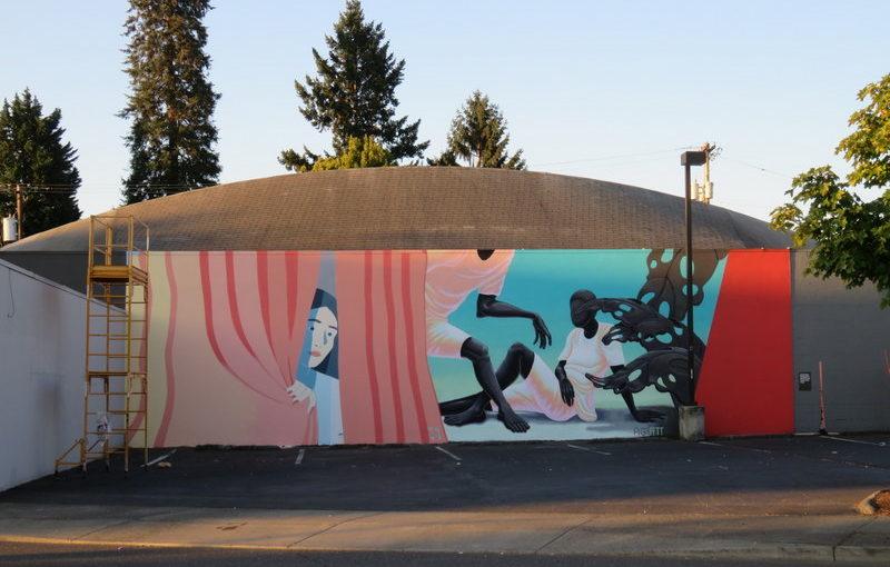New Mural in the Neighborhood