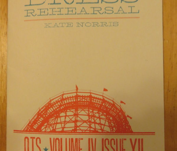 One Teen Story: Dress Rehearsal by Kate Norris