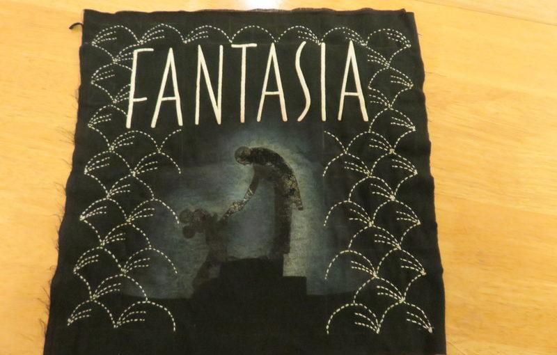 Fantasia quilt square finished.