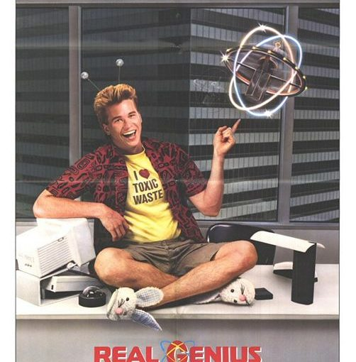 Three sentence movie reviews: Real Genius
