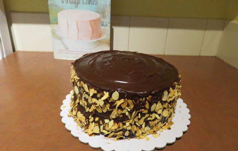 Vintage Cakes: Honey Bee Cake and Jam Cake with Chocolate Caramel Ganache