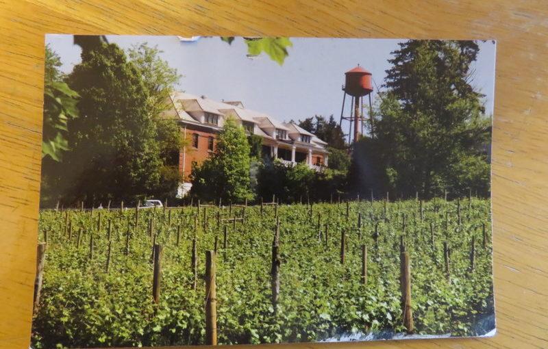 Postcard from Portland, McMenamins Edgefield