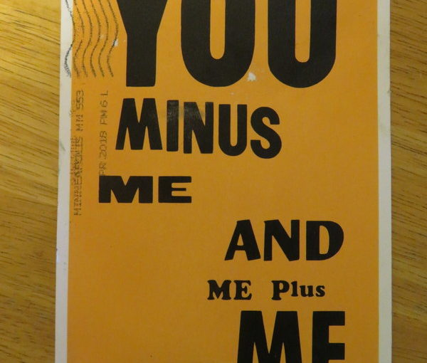 """SKS Postcard: Allen Ruppersberg """"You and Me"""""""