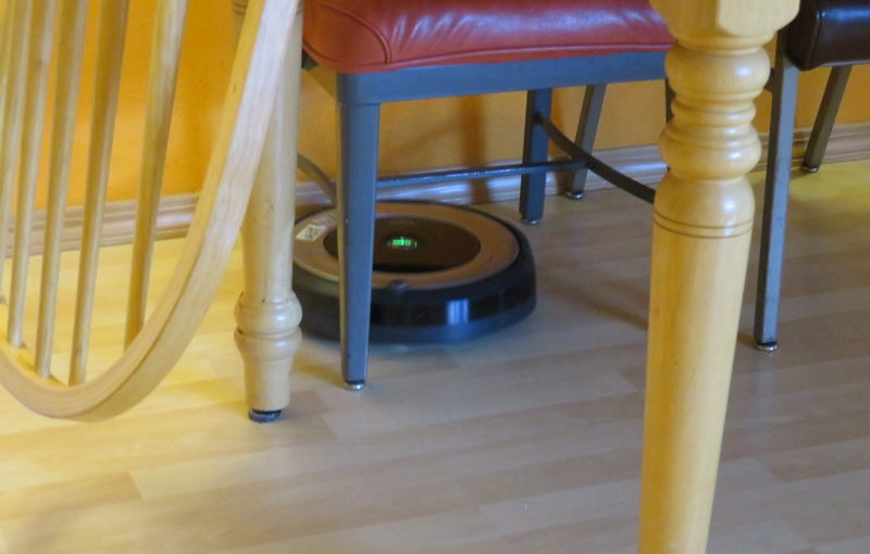 One week with the Roomba