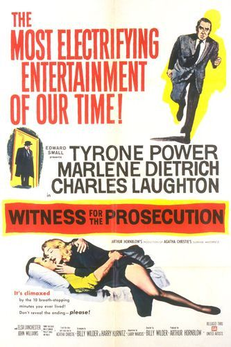 Three sentence movie reviews: Witness for the Prosecution