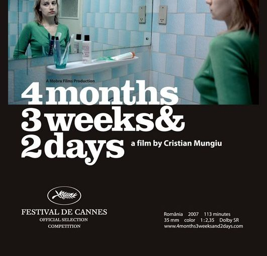 Three sentence movie reviews: 4 Months, 3 Weeks and 2 Days