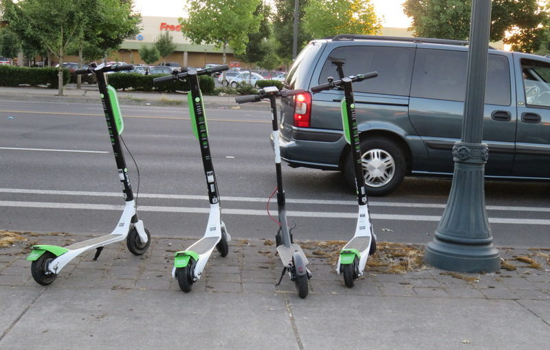 Portland inundated with electric scooters