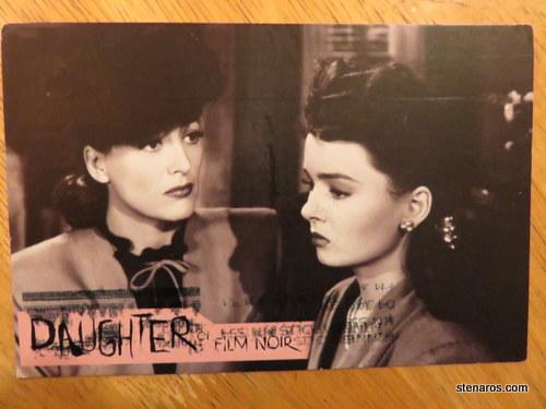 SKS postcard  Daughter of Film Noir