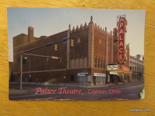 Postcard from Canton, Ohio