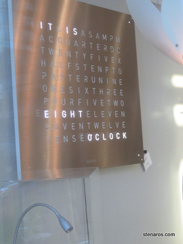 Awesome clock! (a.k.a. rich people get all the good stuff)